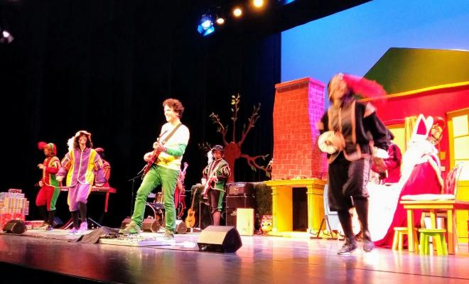 Pepernotenpret op het podium