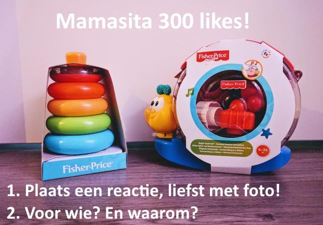 Mamasita Giveaway 300 likes!
