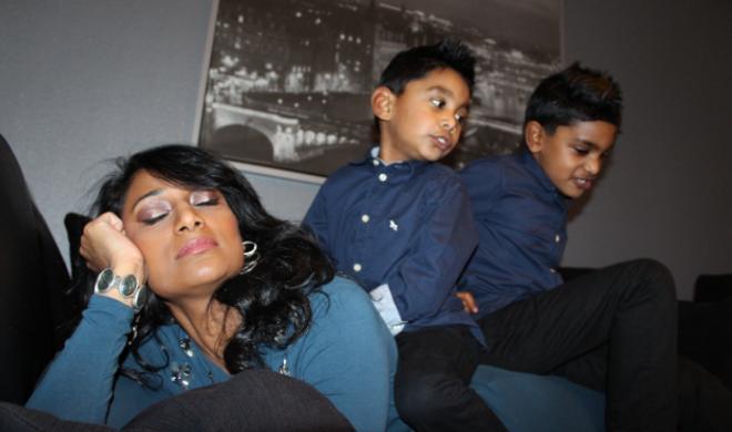 Shahzeya en kids