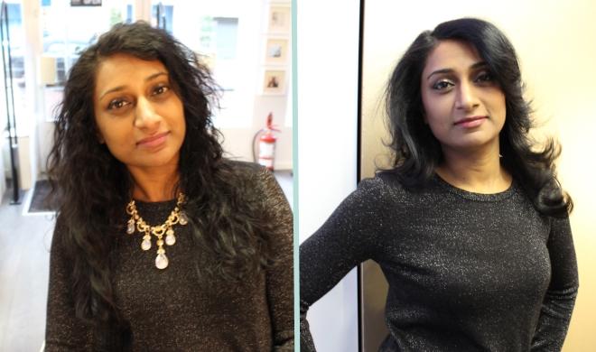Shahzeya voor & na