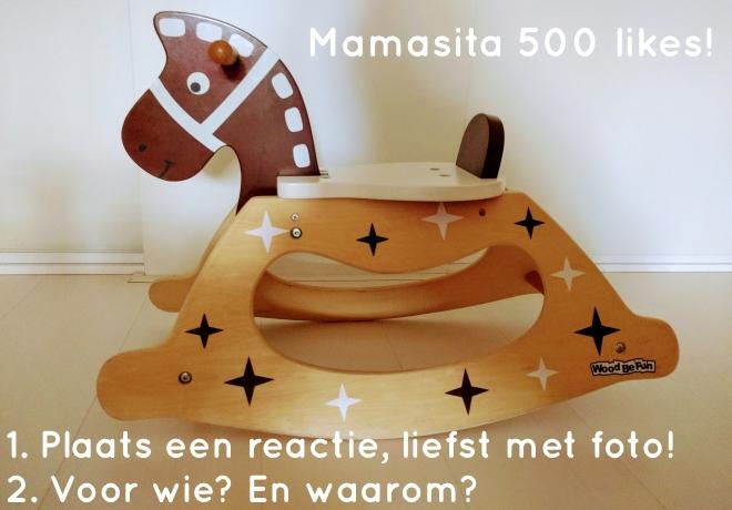 Mamasita GiveAway 500 likes!